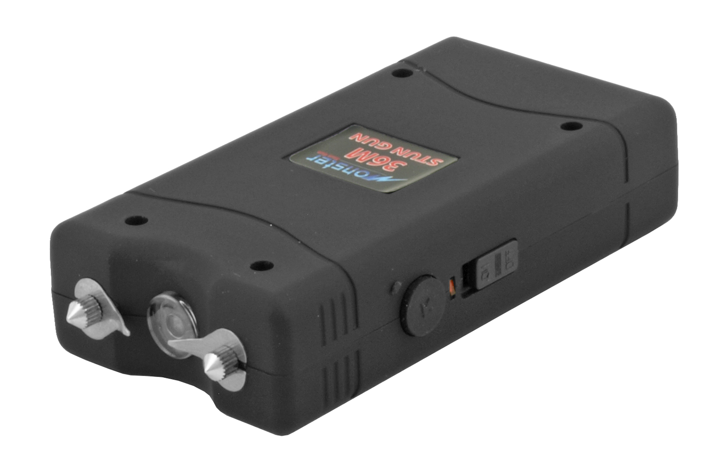 3.5 Million Volt Stun Gun - Black
