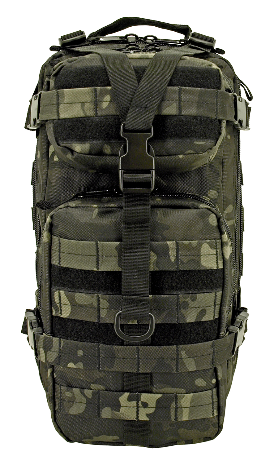 Tactical Assault Backpack - Black Multicam