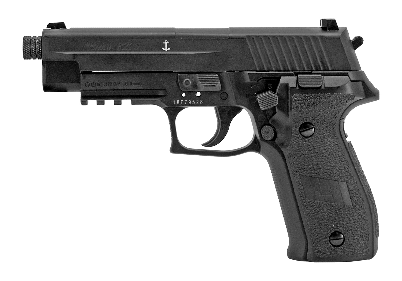 Sig-Sauer P226 Advanced Sport Pellet CO2 Pistol - Black