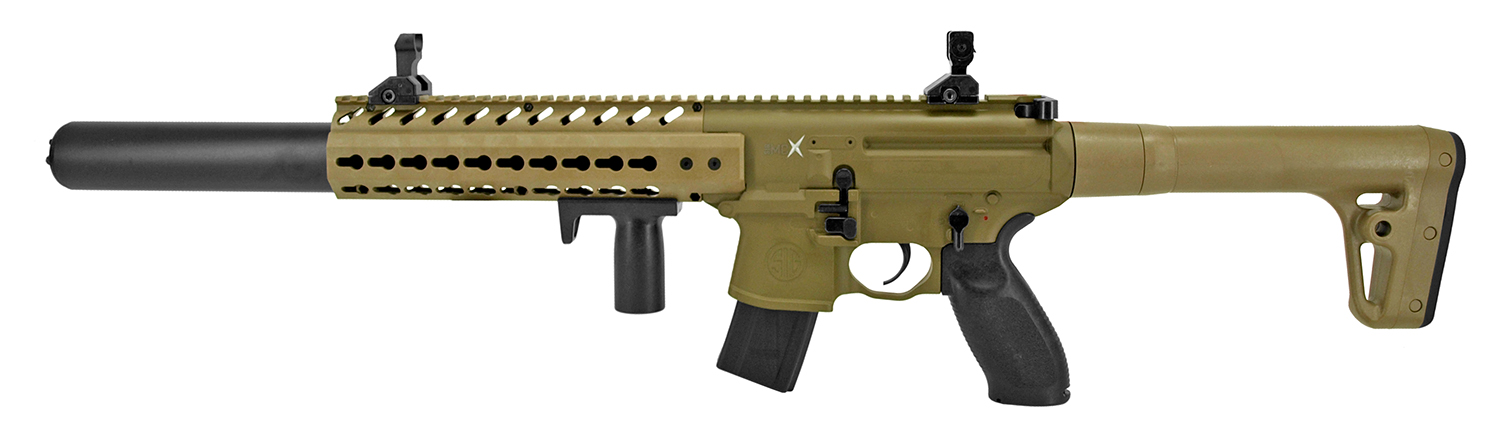 Sig-Sauer MCX Advanced Sport Pellet CO2 Air Rifle - Desert Tan