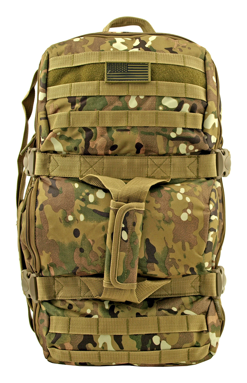 Tactical Journeyman Large Duffle Bag Backpack - Hunting Leaf Camo