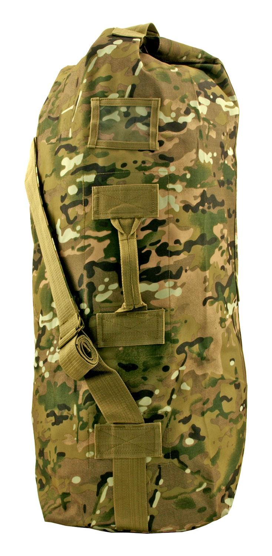 Military Soilder Kit Duffle Sea Bag - Traditional Mountain Camo