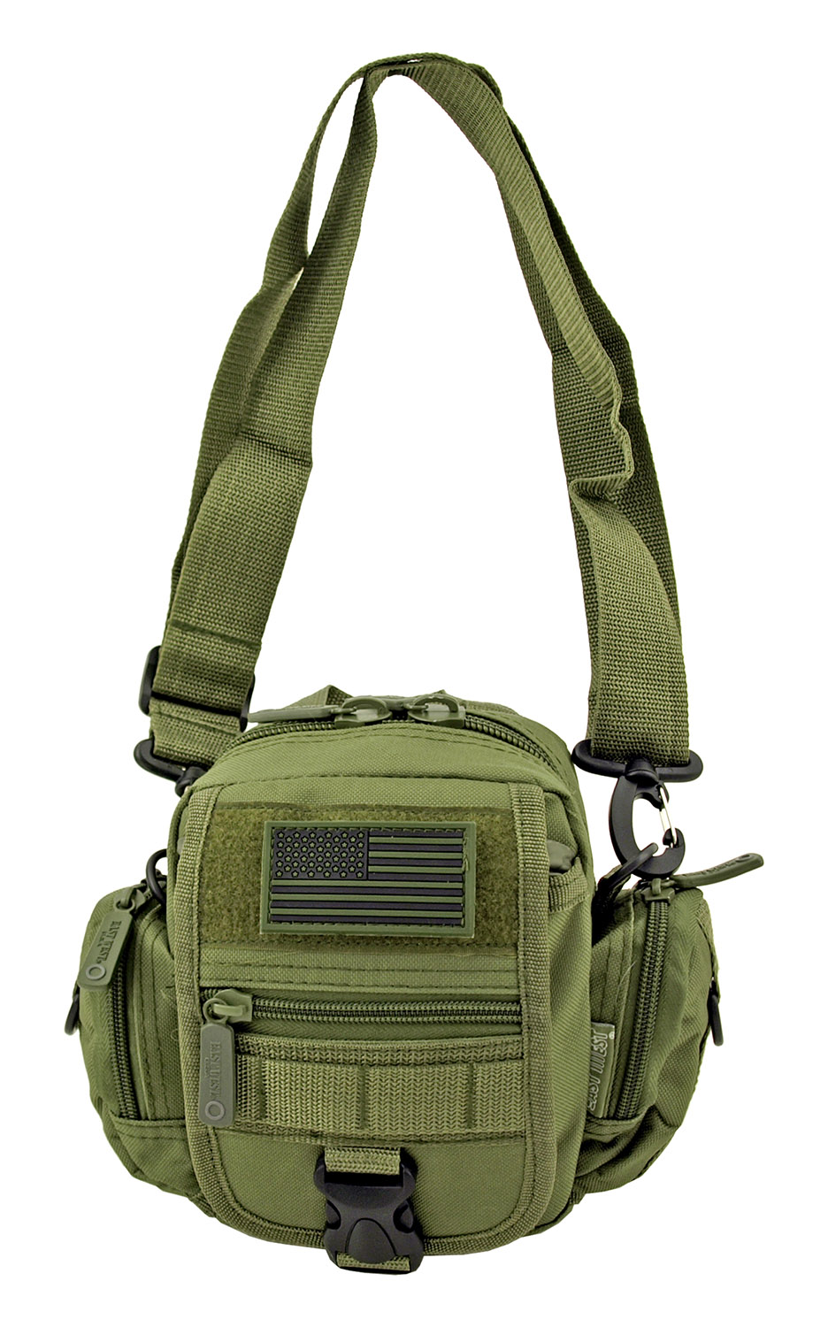 Multi-Functional Tactical Utility Backpack Fanny Pack - Olive Green