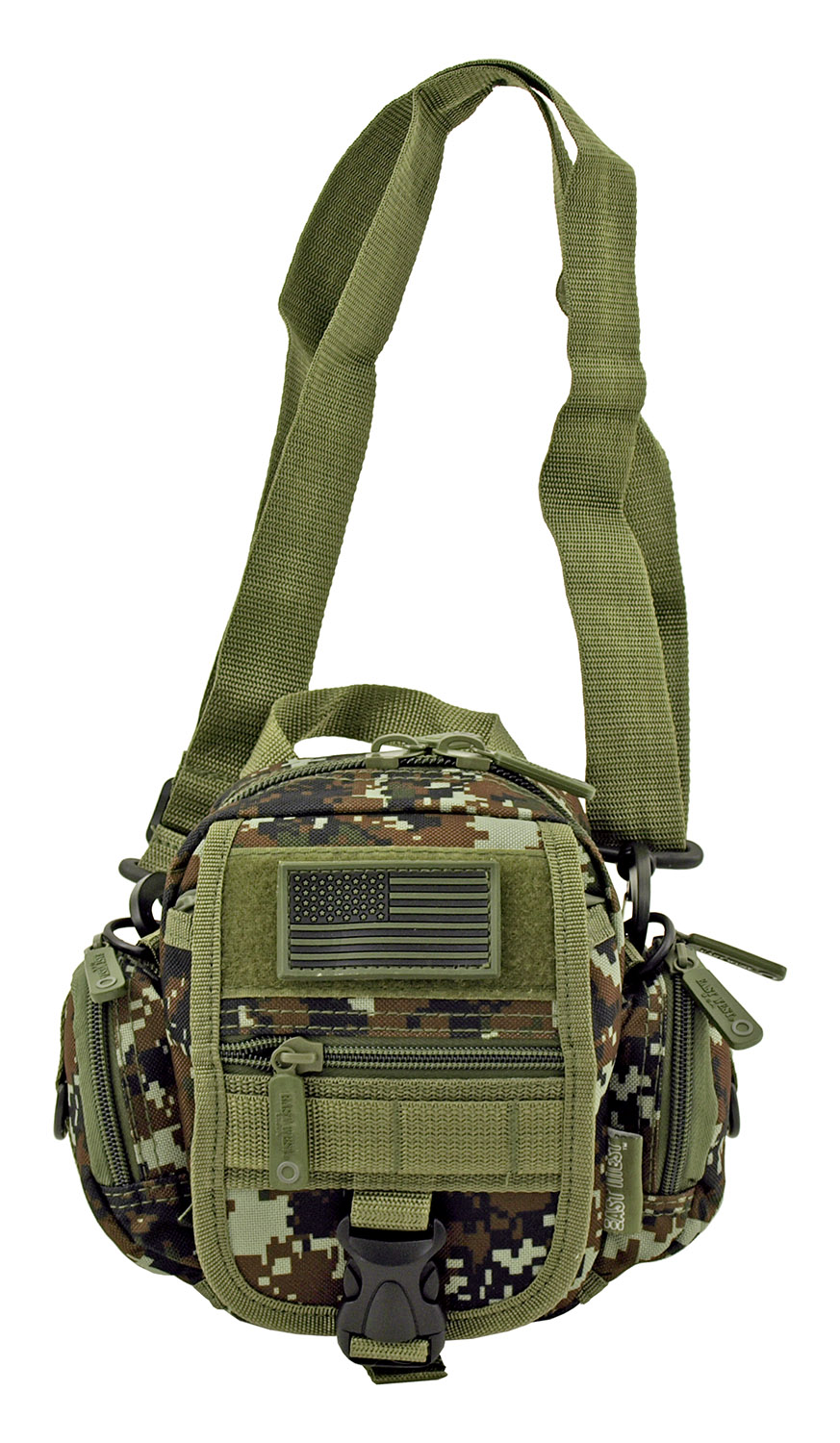 Multi-Functional Tactical Utility Backpack Fanny Pack - Green Digital Camo