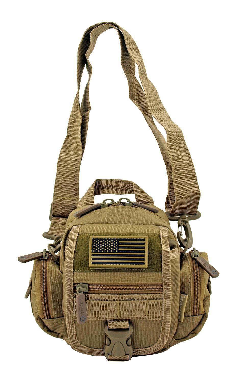 Multi-Functional Tactical Utility Backpack Fanny Pack - Desert Tan