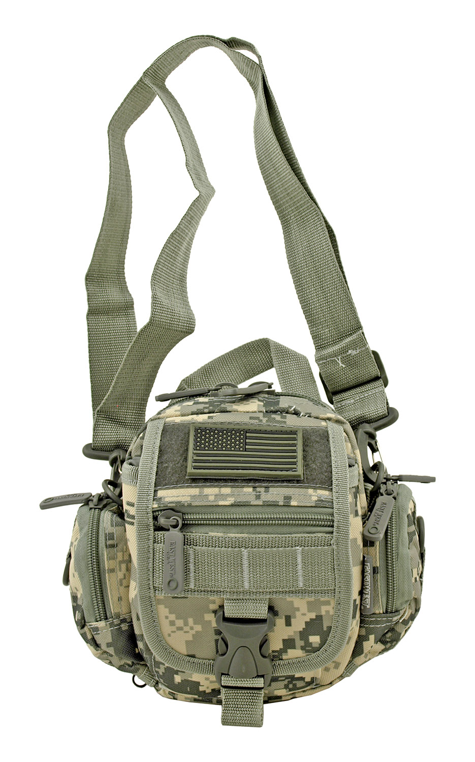 Multi-Functional Tactical Utility Backpack Fanny Pack - Digital Camo