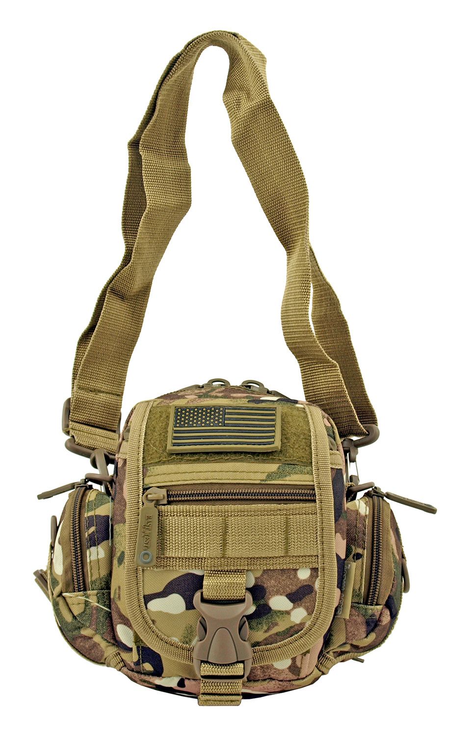 Multi-Functional Tactical Utility Backpack Fanny Pack - Hunting Woodland Camo