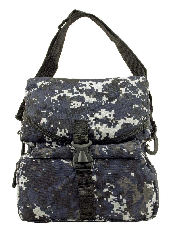 Tactical Folding Medical Egress Molle Attachment Rescue Bag - Blue Digital Camo