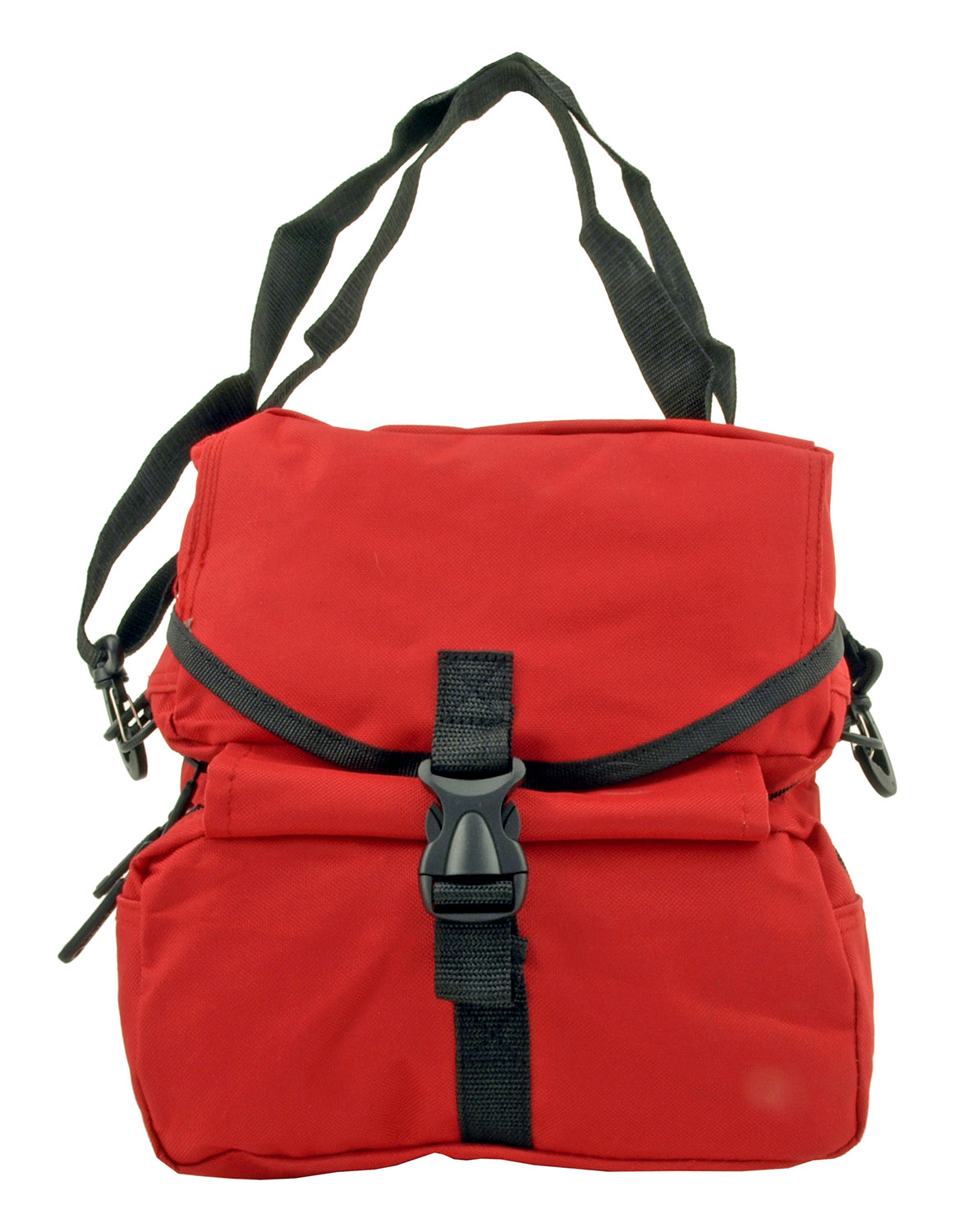 Tactical Folding Medical Egress Molle Attachment Rescue Bag - Red