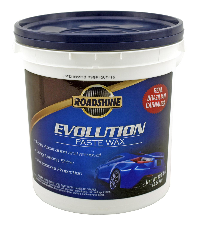 123.4oz Roadshine Evolution Carnauba Car Paste Wax
