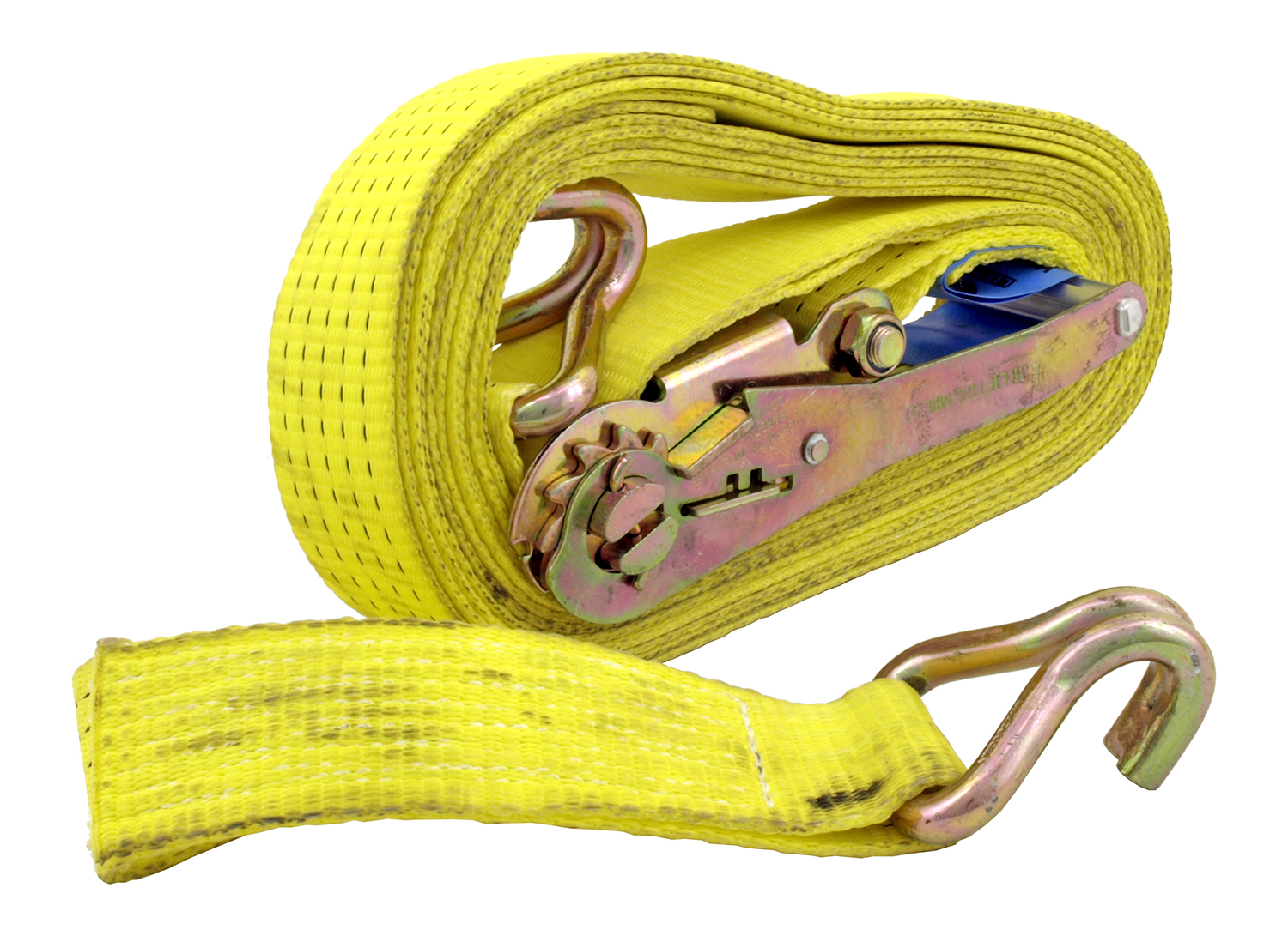 2 in x 27' Ratchet Tie Down w/ J Hook