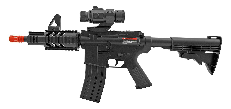 Wells M4 CQB RIS Airsoft Electric AEG Gun - D2806