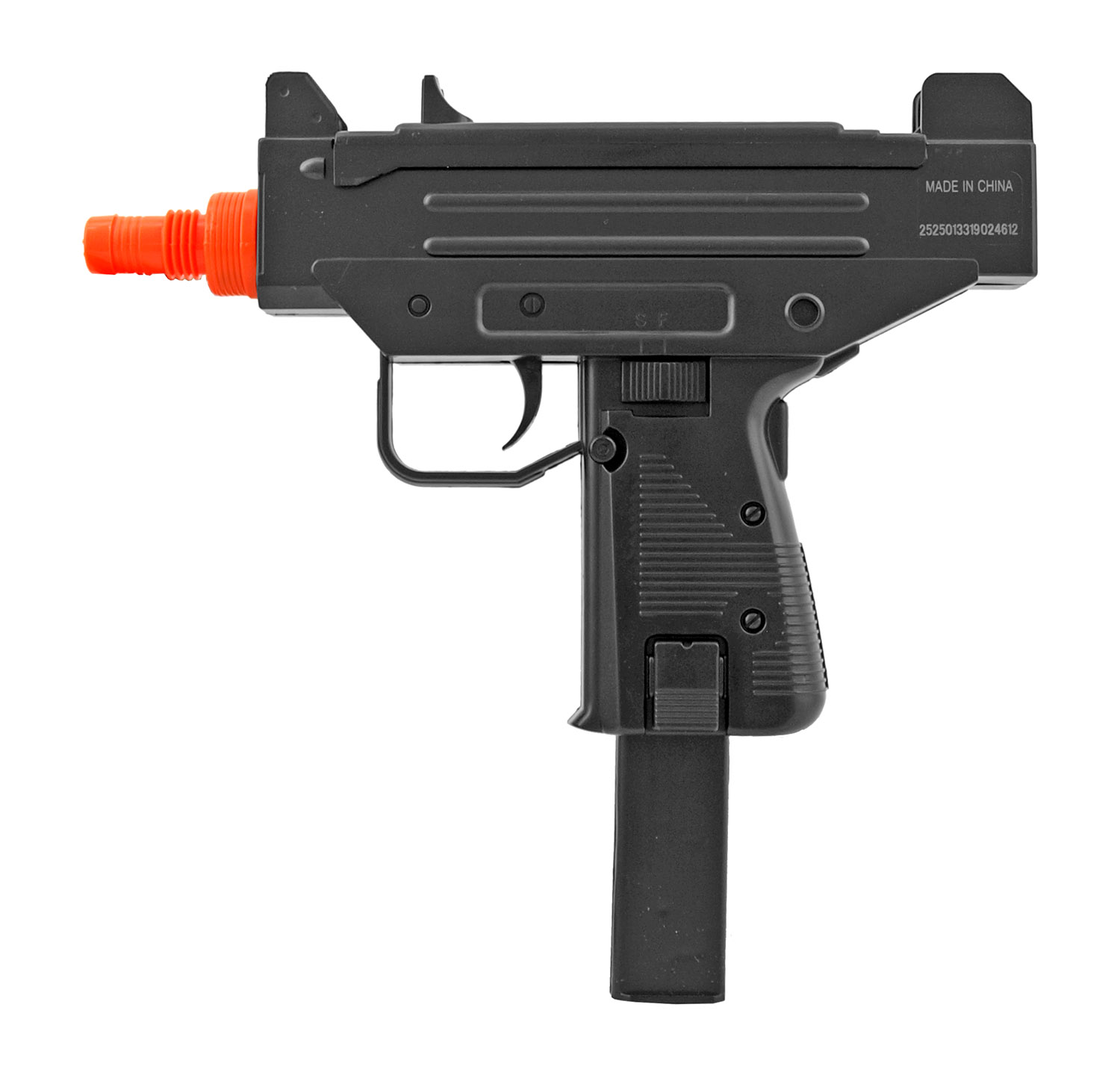 Double Eagle Spring Powered Airsoft UZI - Black