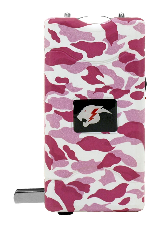 The Cyclone Stun Gun with LED Flashlight - Pink Camo