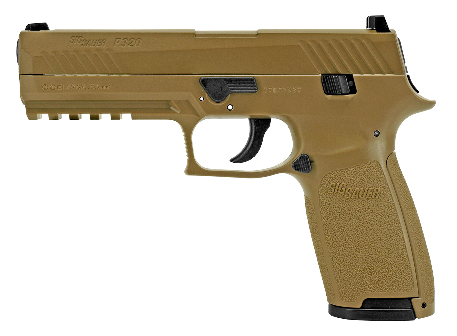 Sig-Sauer P320 Advanced Sport Pellet CO2 Pistol - Desert Tan