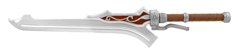 37.75 in Demon King Foam Cosplay Convention Sword - Maroon Red