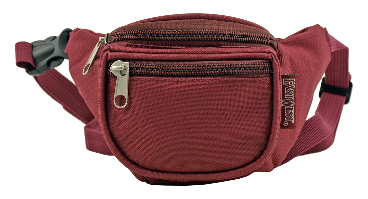 Small Daily Fanny Pack - Burgundy Red