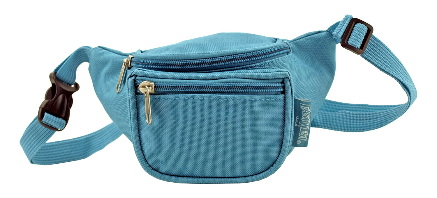 Small Daily Fanny Pack - Turquoise Blue Green