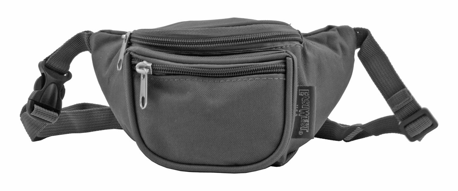 Small Daily Fanny Pack - Charcoal Grey