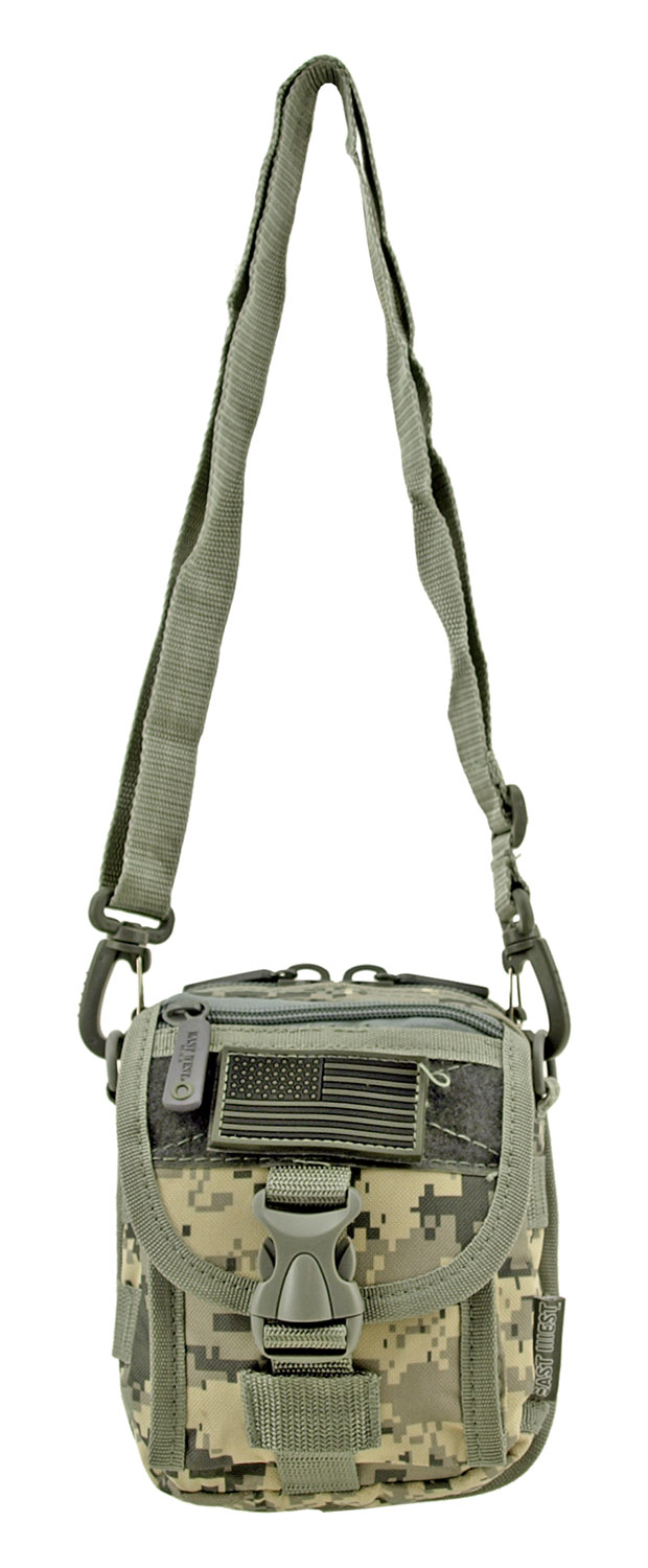 The Tactical Over the Shoulder Everyday Carry Attachment Bag - Digital Camo