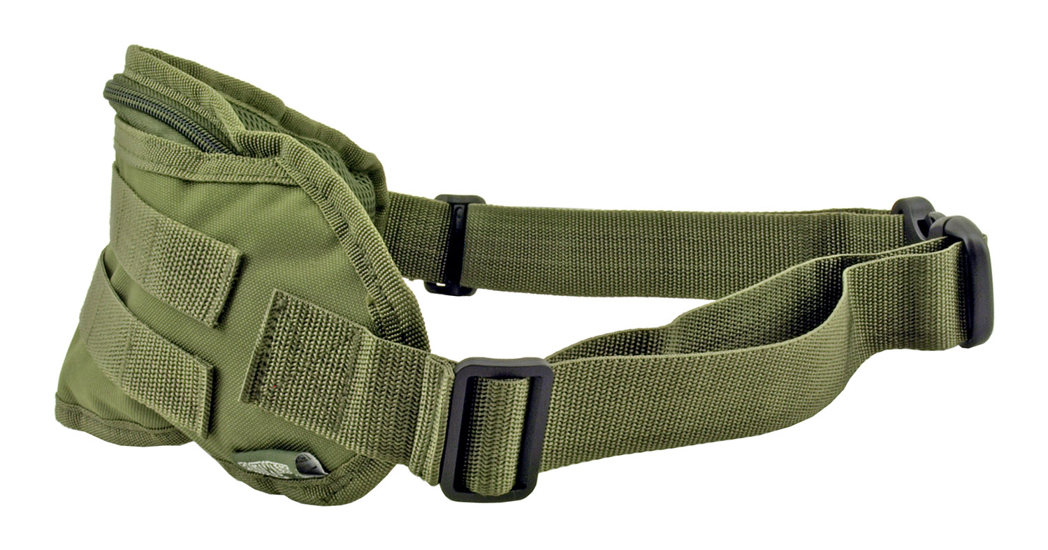 Tactical Fanny Pack Hip Bag with Molle Strap - Olive Drab Green