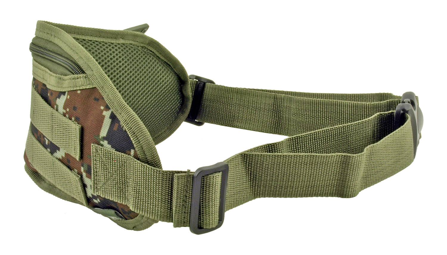 Tactical Fanny Pack Hip Bag with Molle Strap - Green Digital Camo