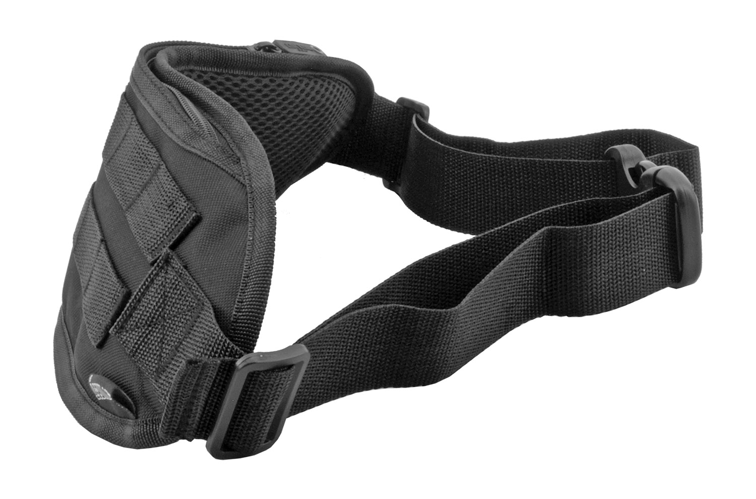 Tactical Fanny Pack Hip Bag with Molle Strap - Black