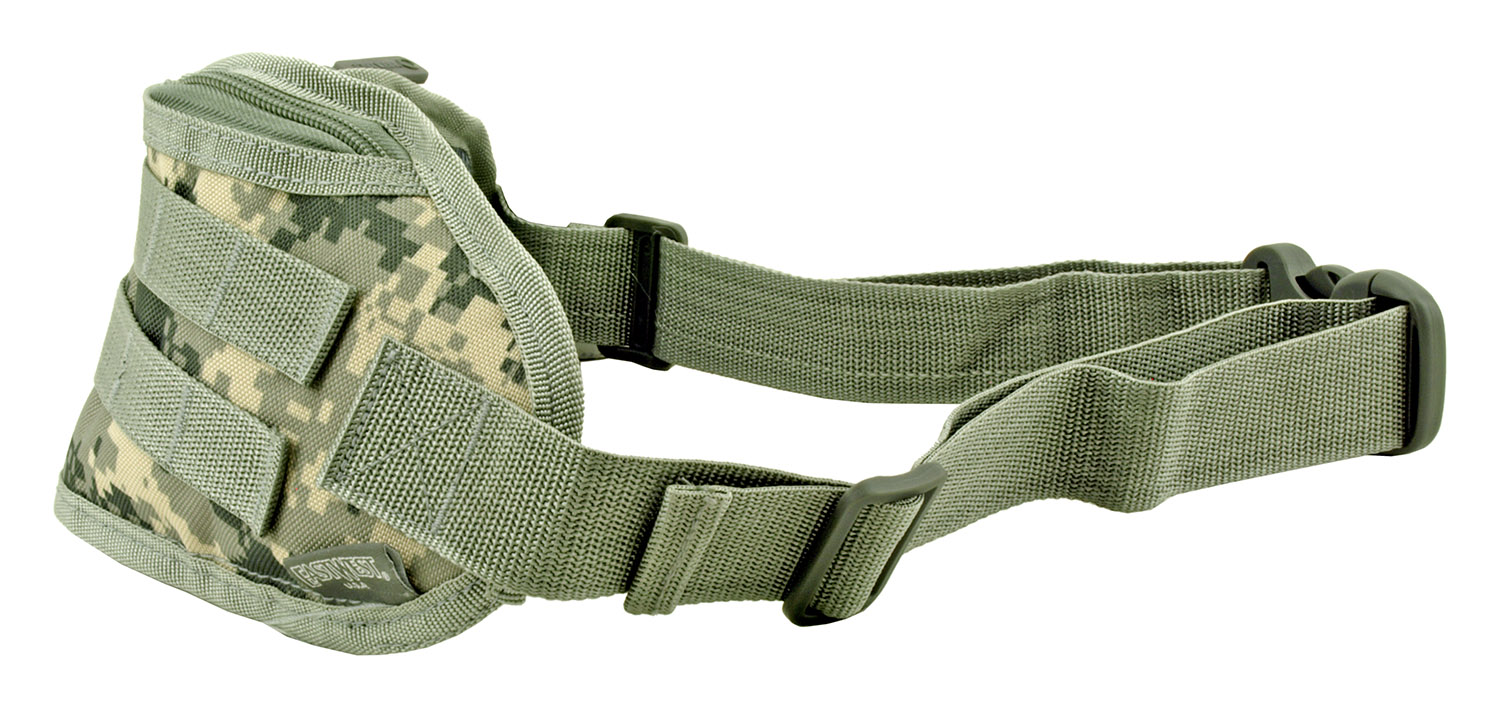 Tactical Fanny Pack Hip Bag with Molle Strap - Digital Camo