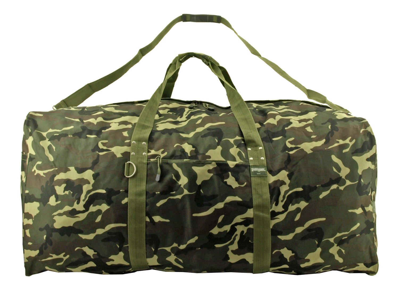 Extra Large Duffle Bag - Woodland Multi-Camo