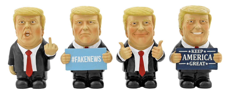 Trumpets Sound Off - President Donald Trump DWK Mini Trump Statue Figurines
