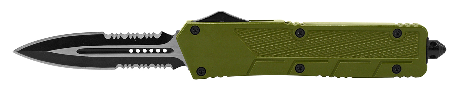 5.5 in Special Ops Out the Front Knife - Olive Green