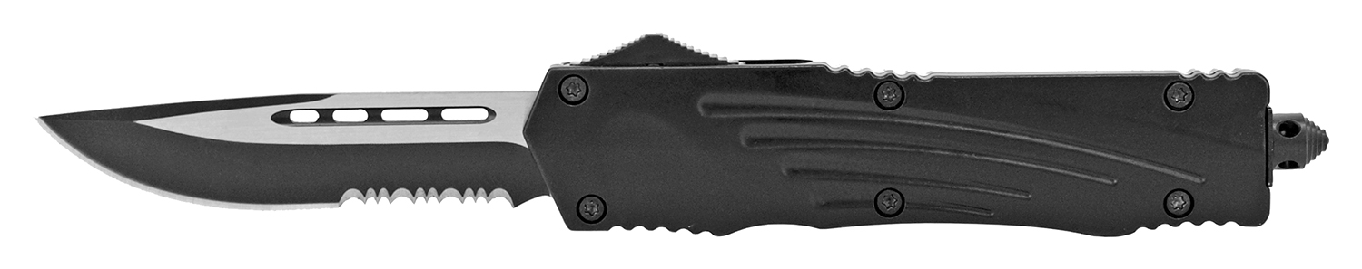 5.5 in Out the Front Pocket Knife - Black