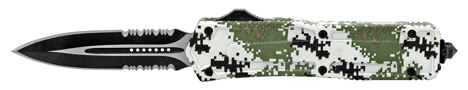 5.25 in Out the Front Pocket Knife - Digital Camo