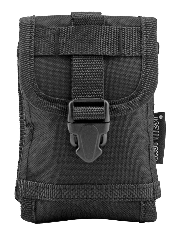 Space Force Tactical MOLLE Cell Phone Tech Pouch Carrier Vest Attachment - Black