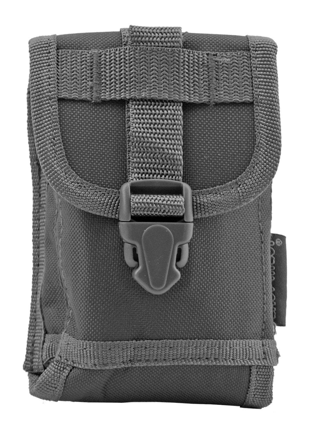 Space Force Tactical MOLLE Cell Phone Tech Pouch Carrier Vest Attachment - Grey