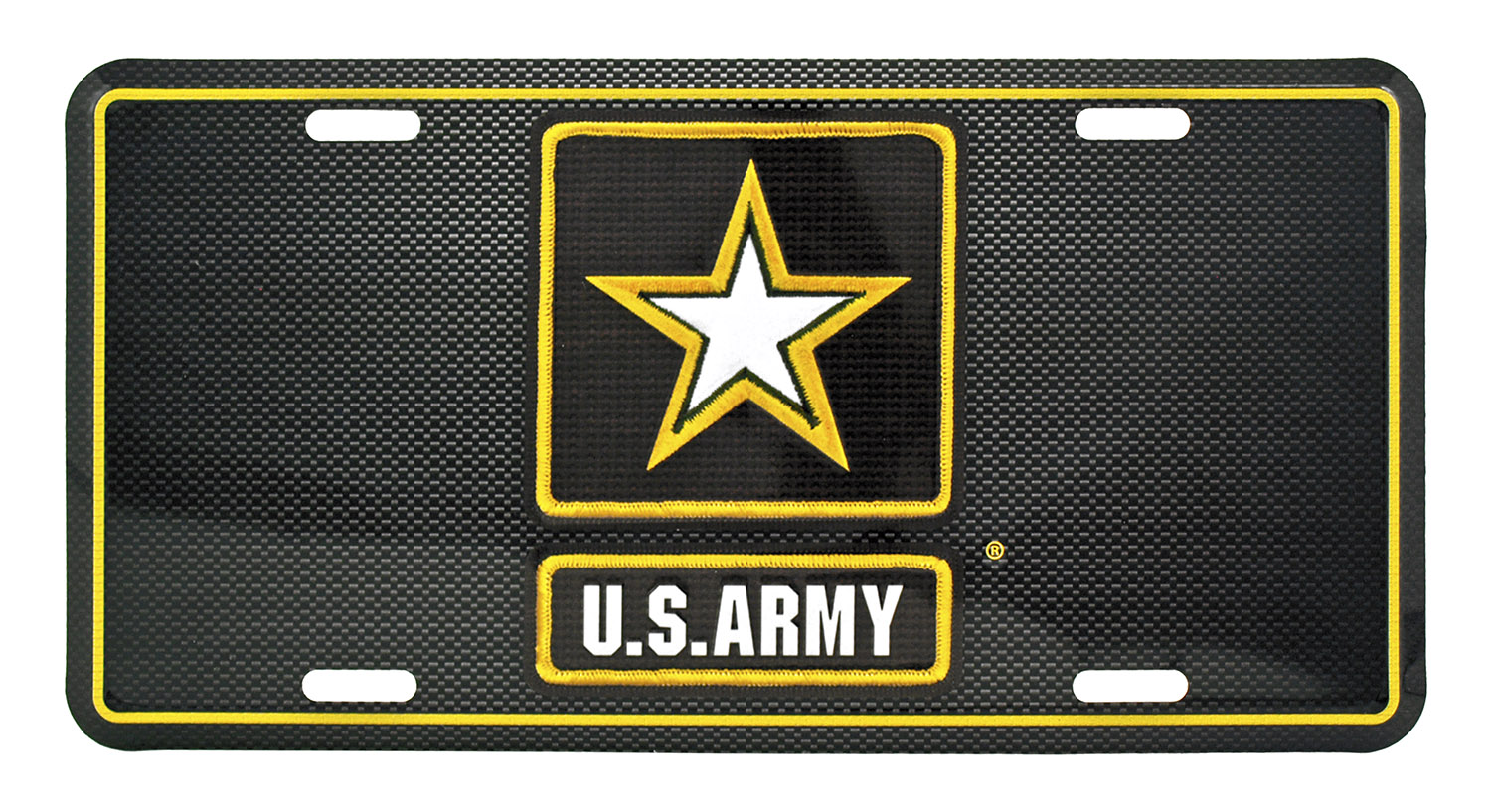 Officially Licensed U.S. Army License Plate