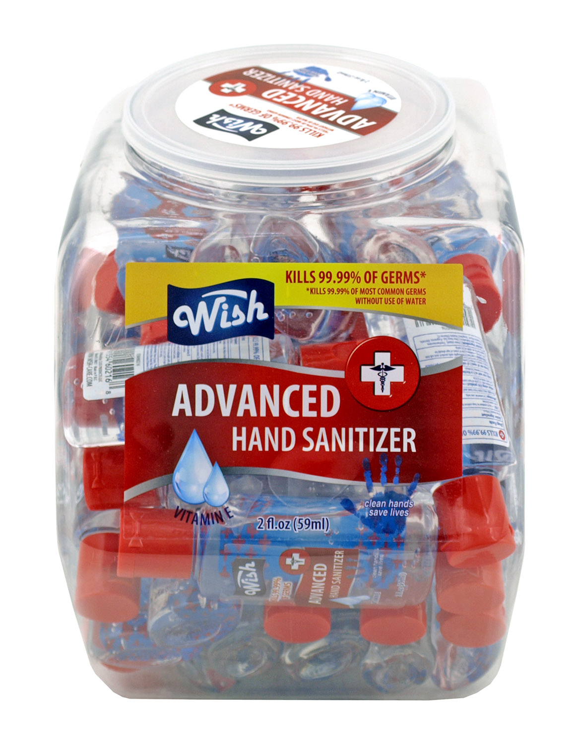 36 pc. Countertop Display of 2 oz. Wish Advanced Hand Sanitizer and Purifier