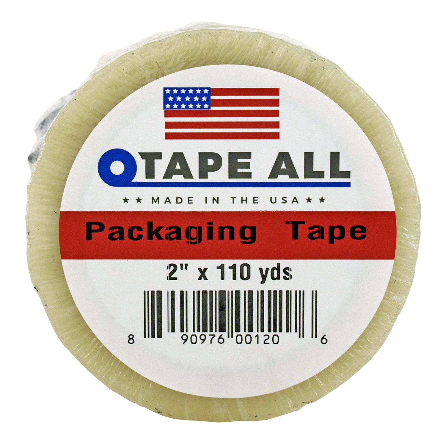 2 in x 110yds. Packaging Tape - Clear