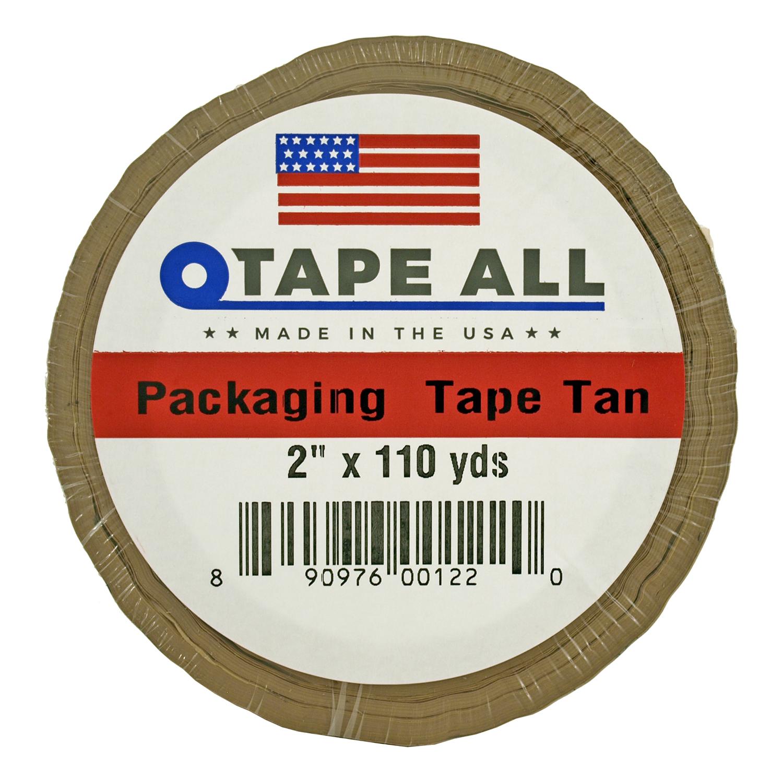 2 in x 110yds. Packaging Tape - Tan
