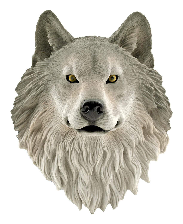 Nanook - Mountain Wolf Husky Dog Bust - DWK