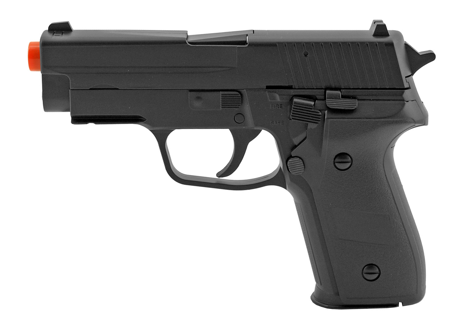 M26 Lock Back Slide Spring Powered US Military Issue Sidearm Airsoft Pistol - Double Eagle