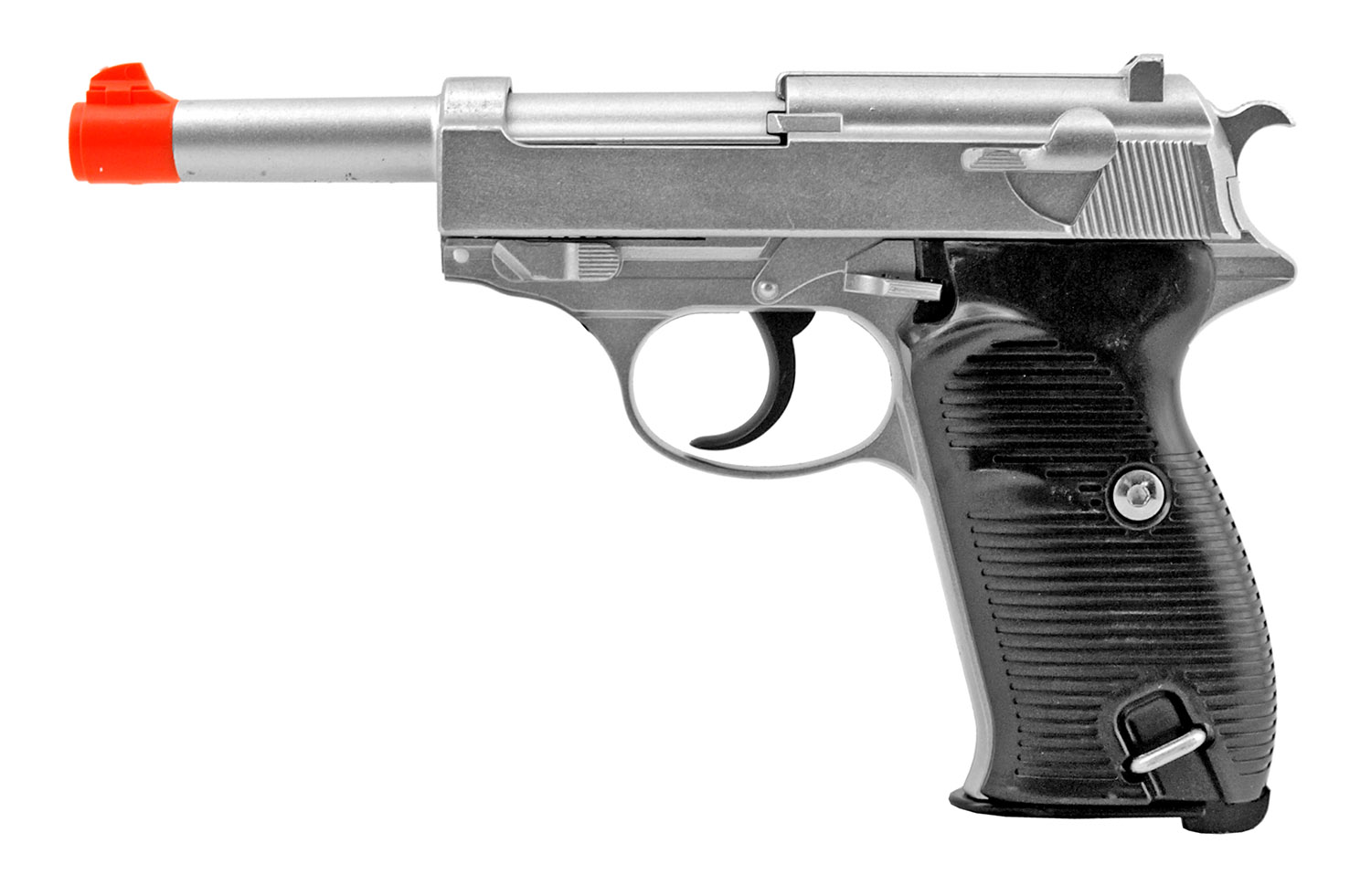 G21 German Military Luger Styled Metal Spring Airsoft Pistol - UK Arms