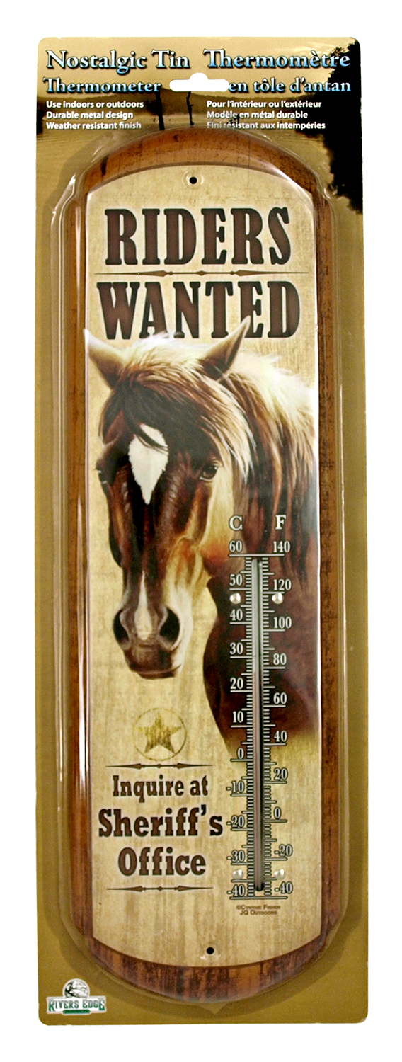 Riders Wanted Thermometer