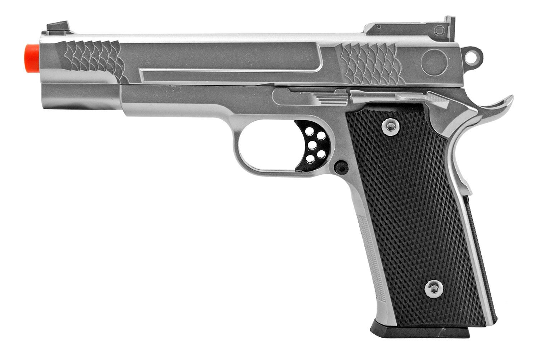 G20 Metal Spring Powered Airsoft Handgun Pistol with Metal Magazine - UKArms