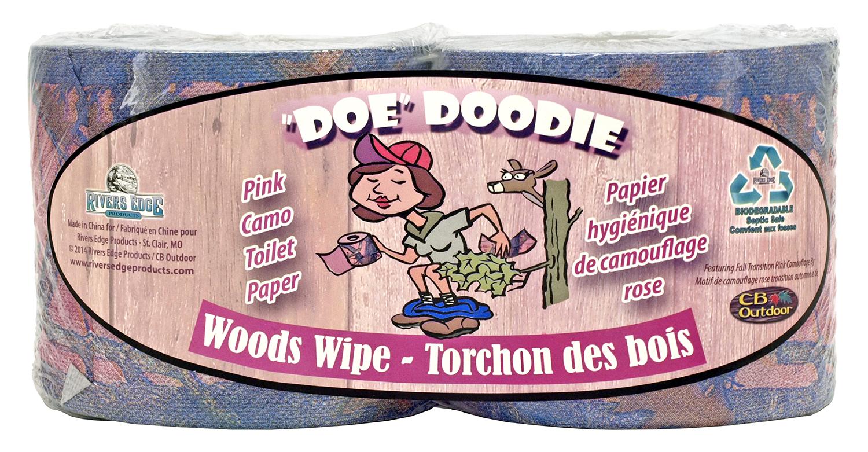 inDoe in Doodie Woods Wipe Toilet Paper - Pink Camo