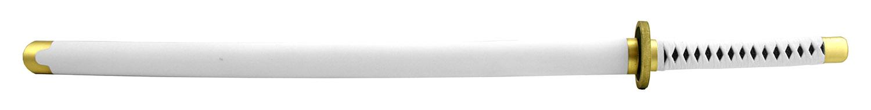 40 in Samurai Warrior Foam Katana Anime Cosplay Sword with Sheath - White on White