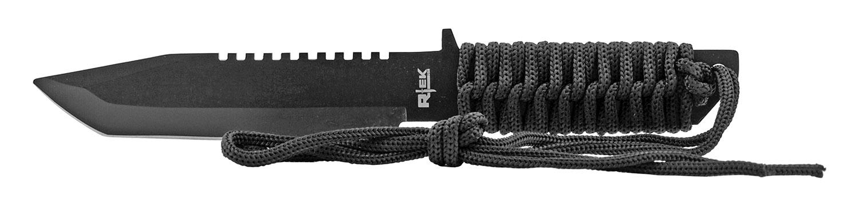 11 in Rtek Full Tang Stainless Steel Egress Bugout Paracord Survival Knife - Rambo