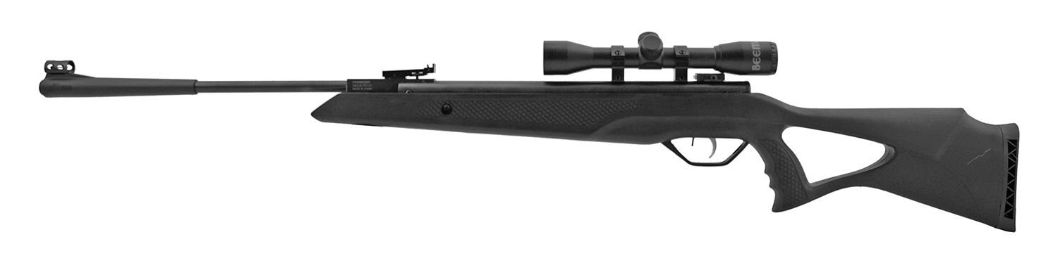 Beeman Longhorn 10617 .177 Cal. Synthetic Air Pellet Rifle with Scope