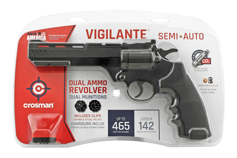 Crosman Vigilante .177 Cal. CO2 Semi Auto Revolver BB Air Pistol