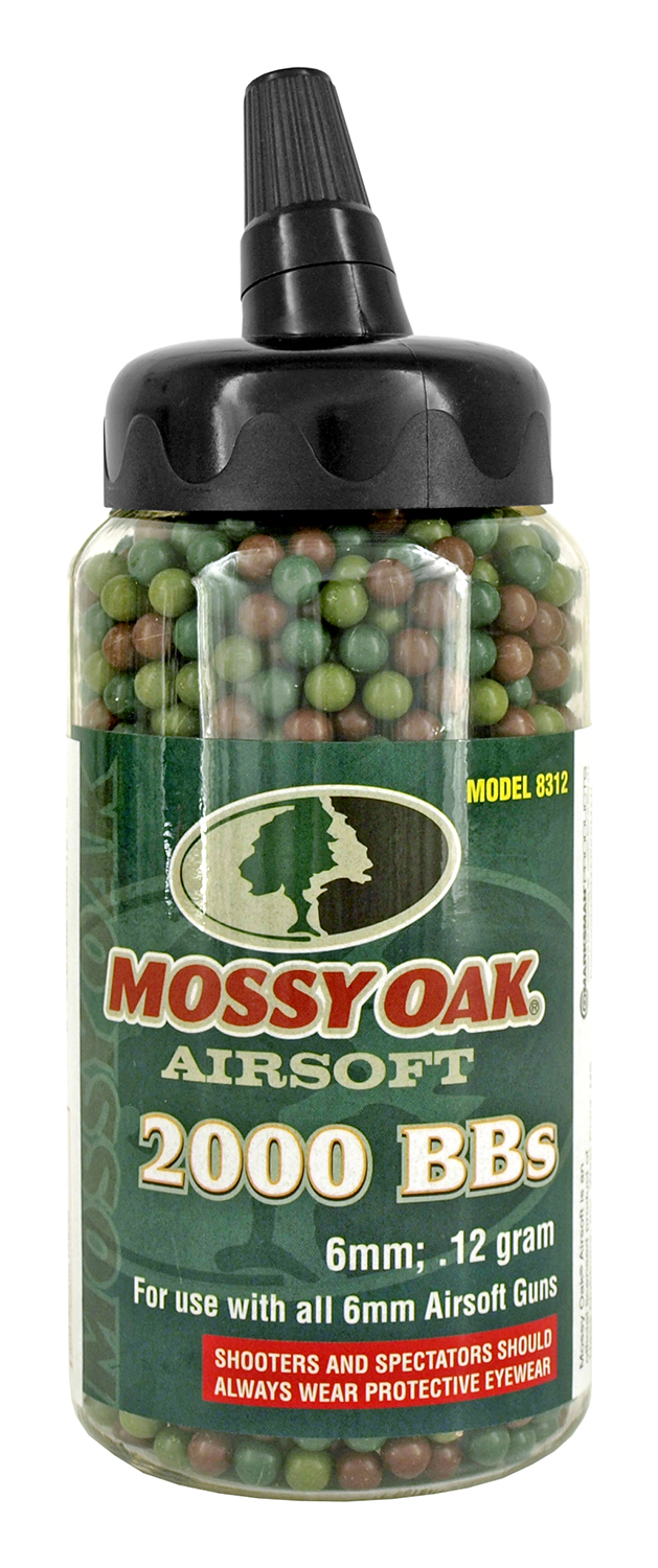 2,000 ct. Mossy Oak Airsoft BB's
